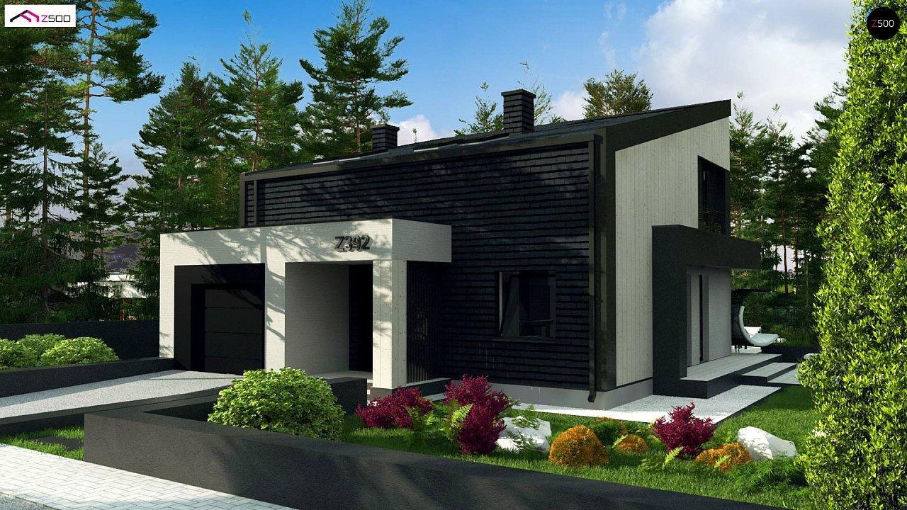 Проект будинку Z392 - 1