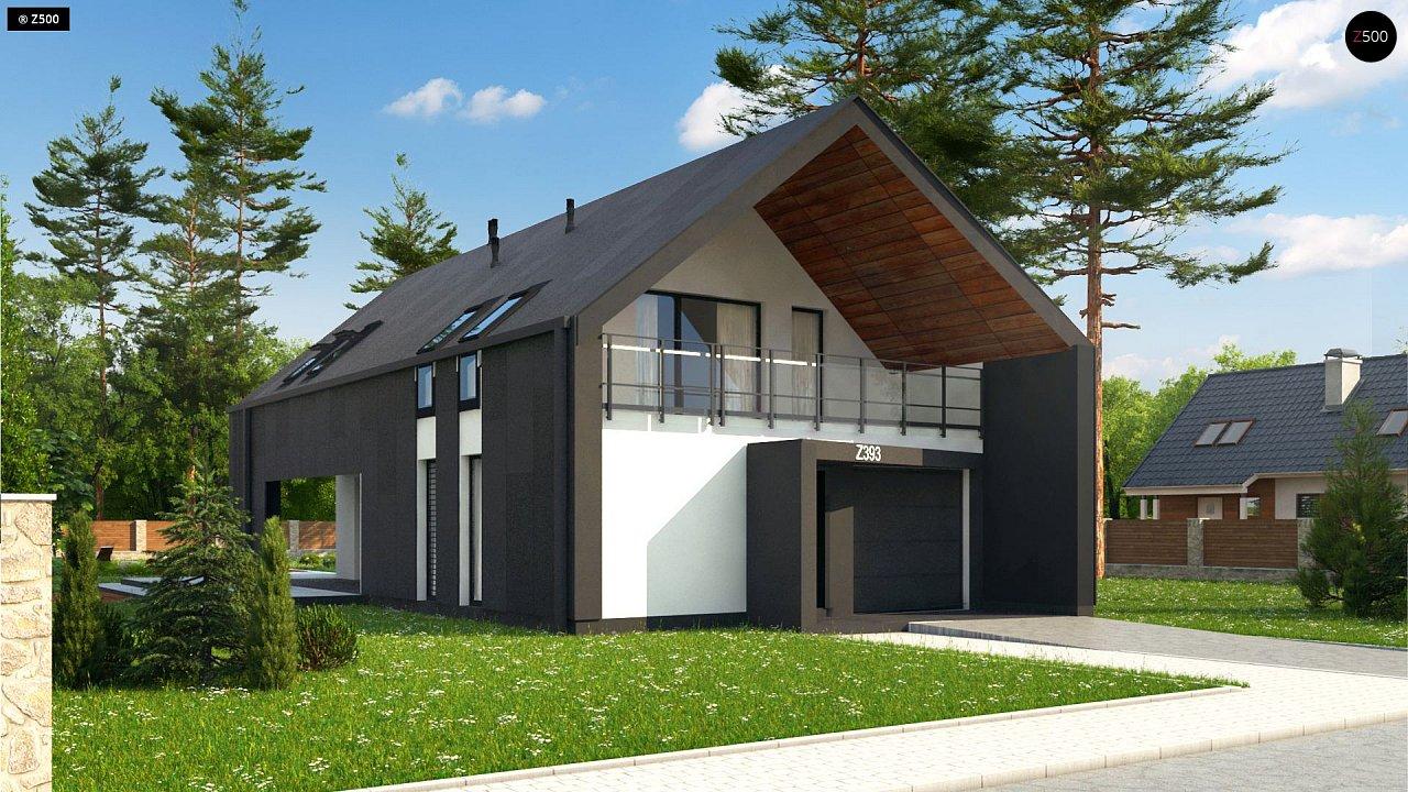 Проект будинку Z393 - 1