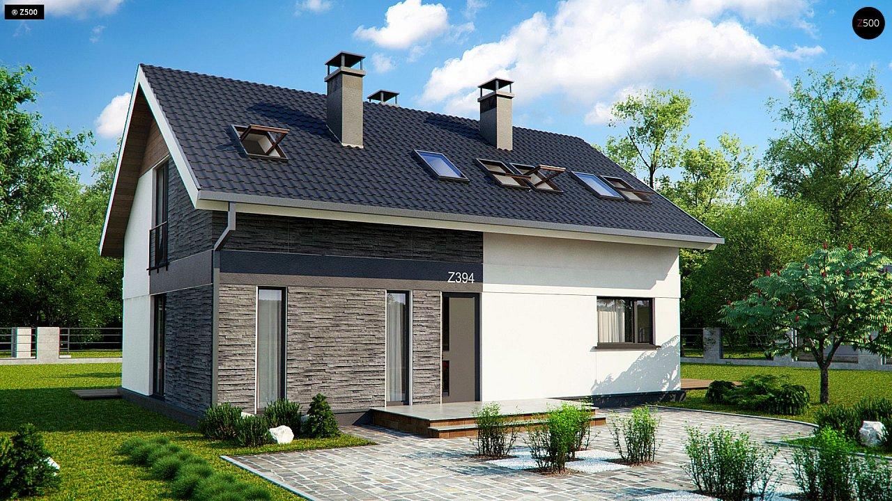 Проект будинку Z394 - 1