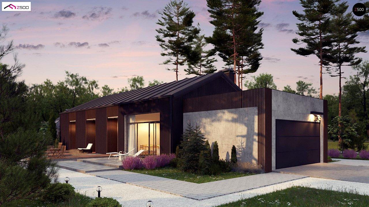 Проект будинку Z395 - 1