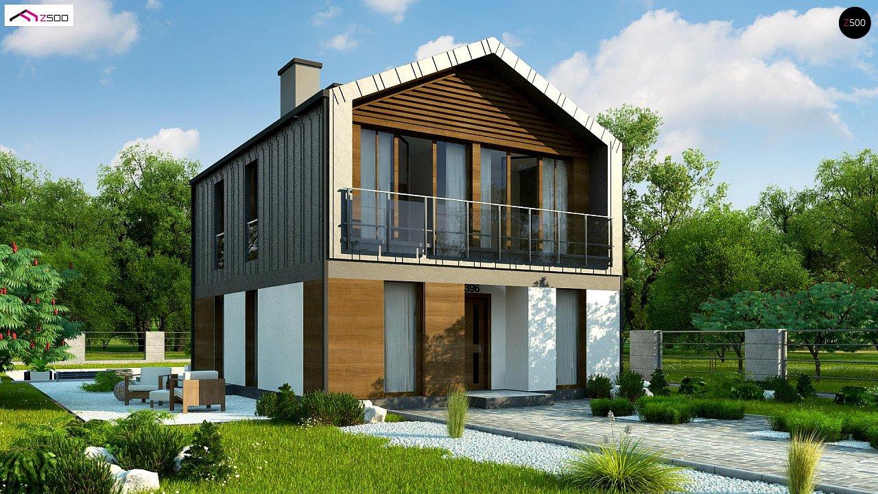 Проект будинку Z396 - 1