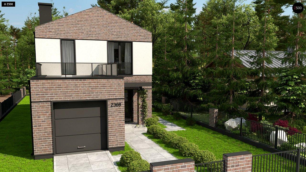 Проект будинку Z398 - 1