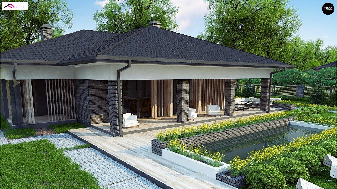 Проект будинку Z400 - 1