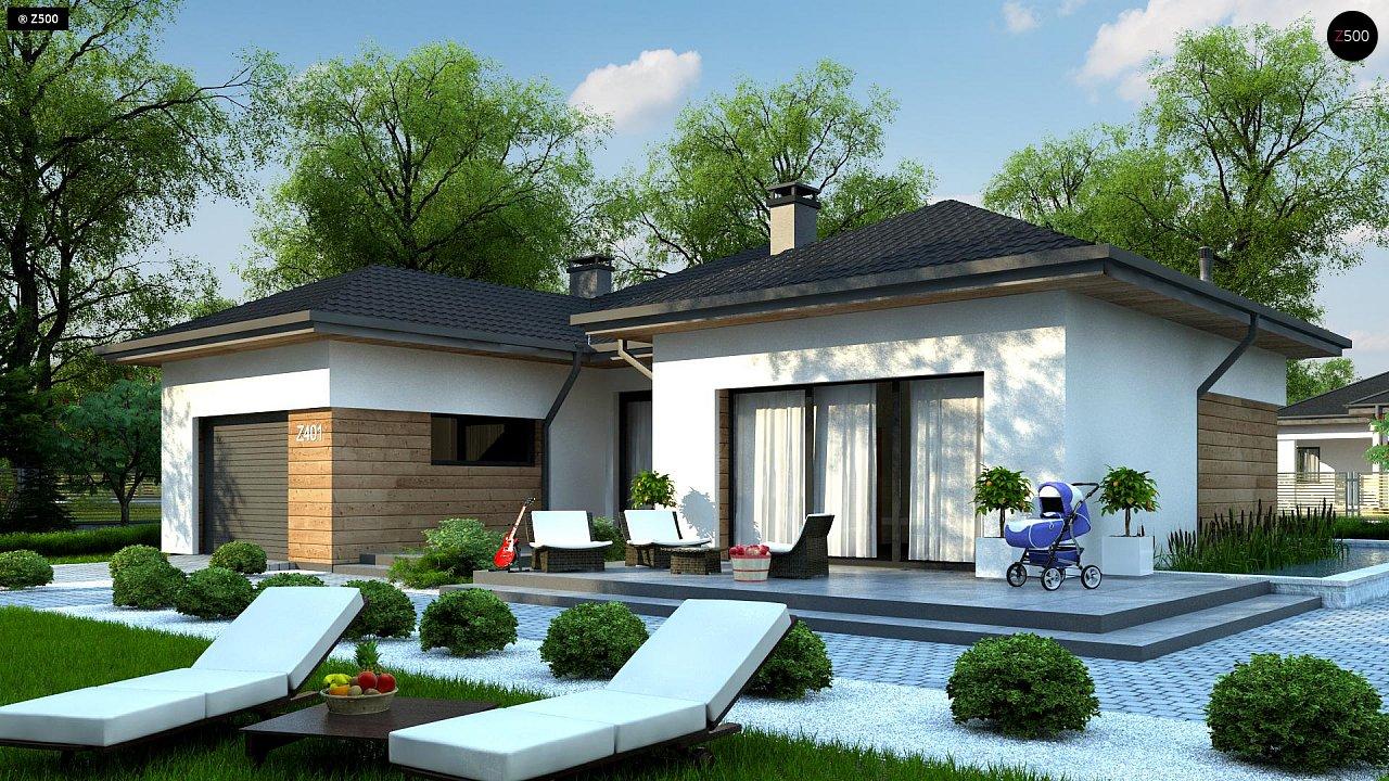 Проект будинку Z401 - 1