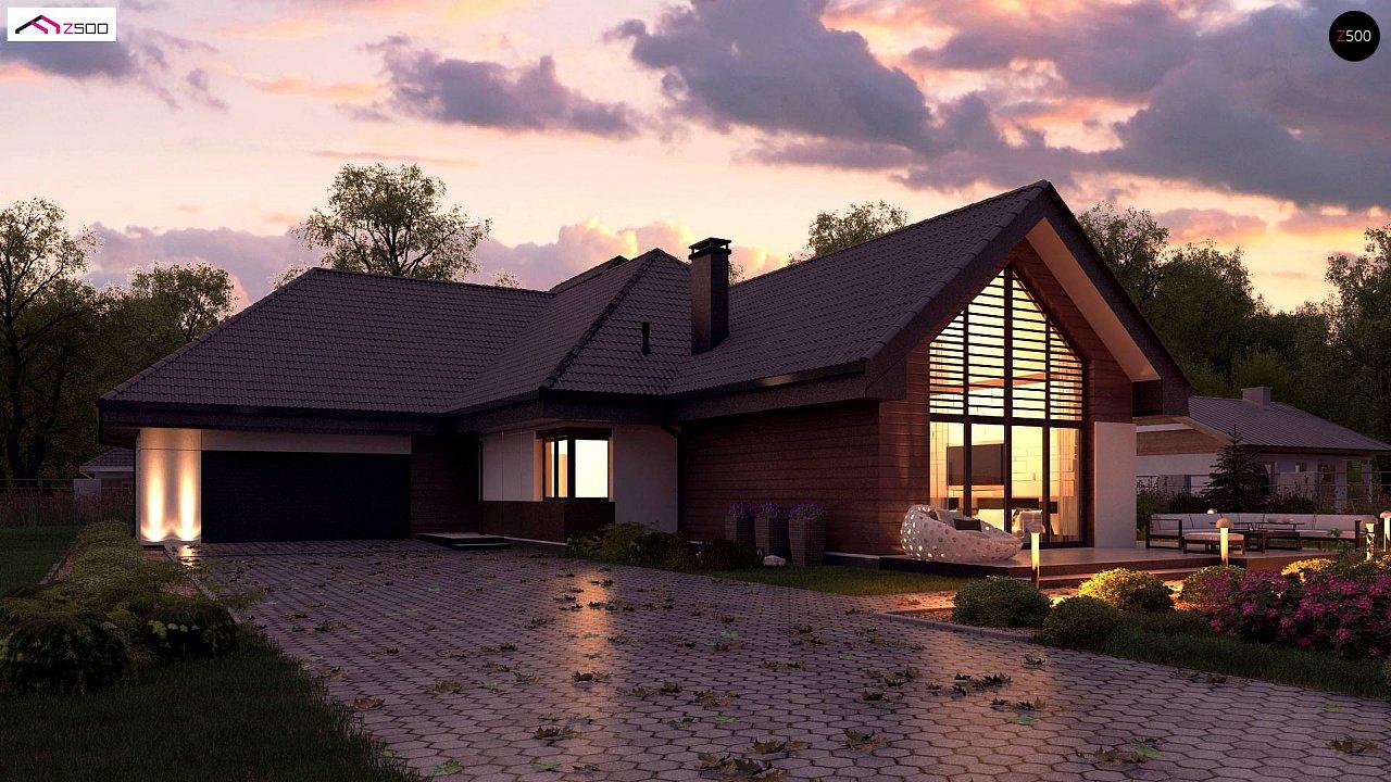 Проект будинку Z402 B+ - 1