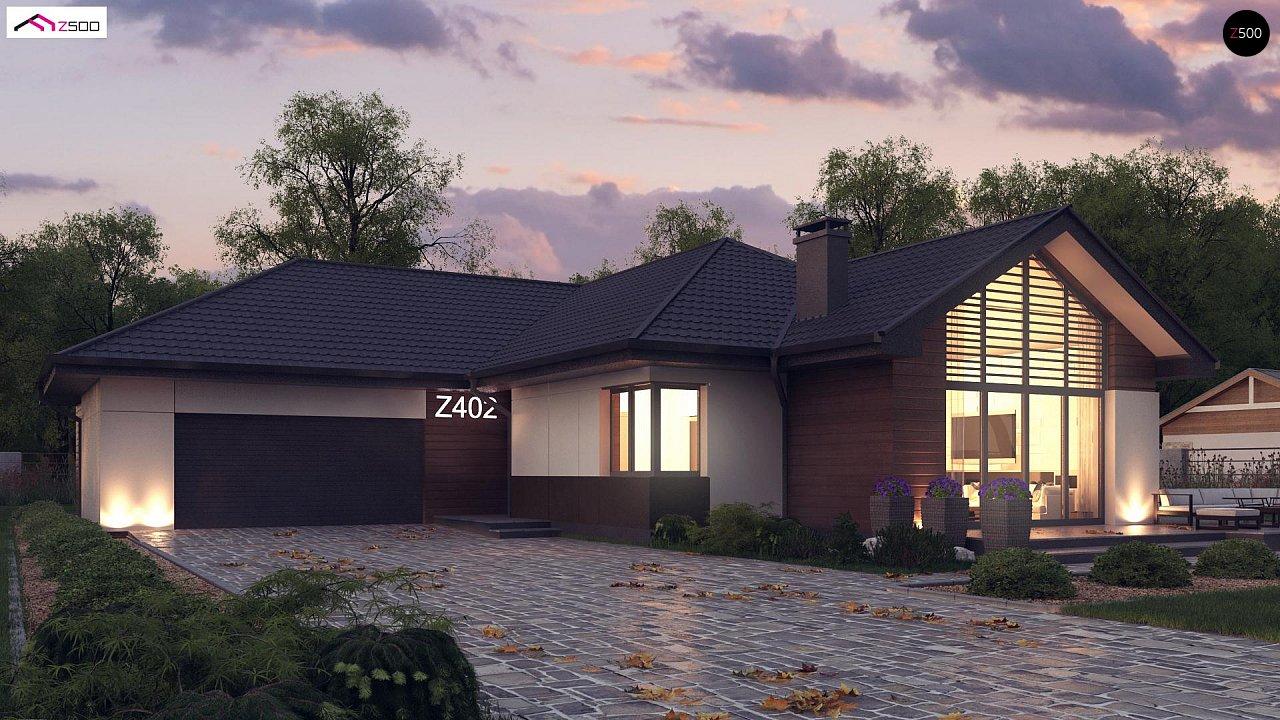 Проект будинку Z402 - 1