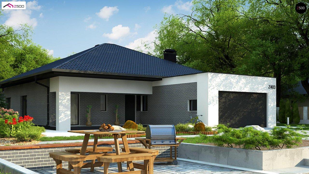Проект будинку Z403 - 1
