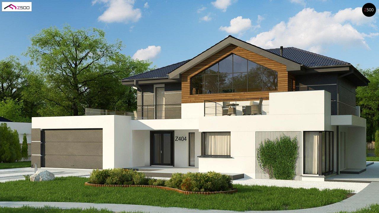 Проект будинку Z404 - 1