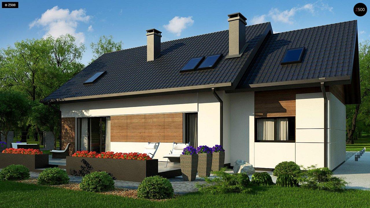 Проект будинку Z405 - 1
