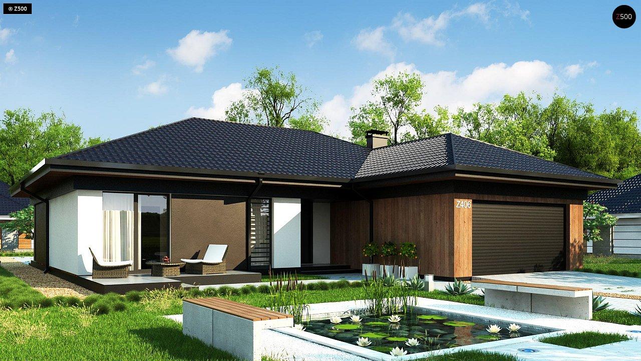 Проект будинку Z406 - 1
