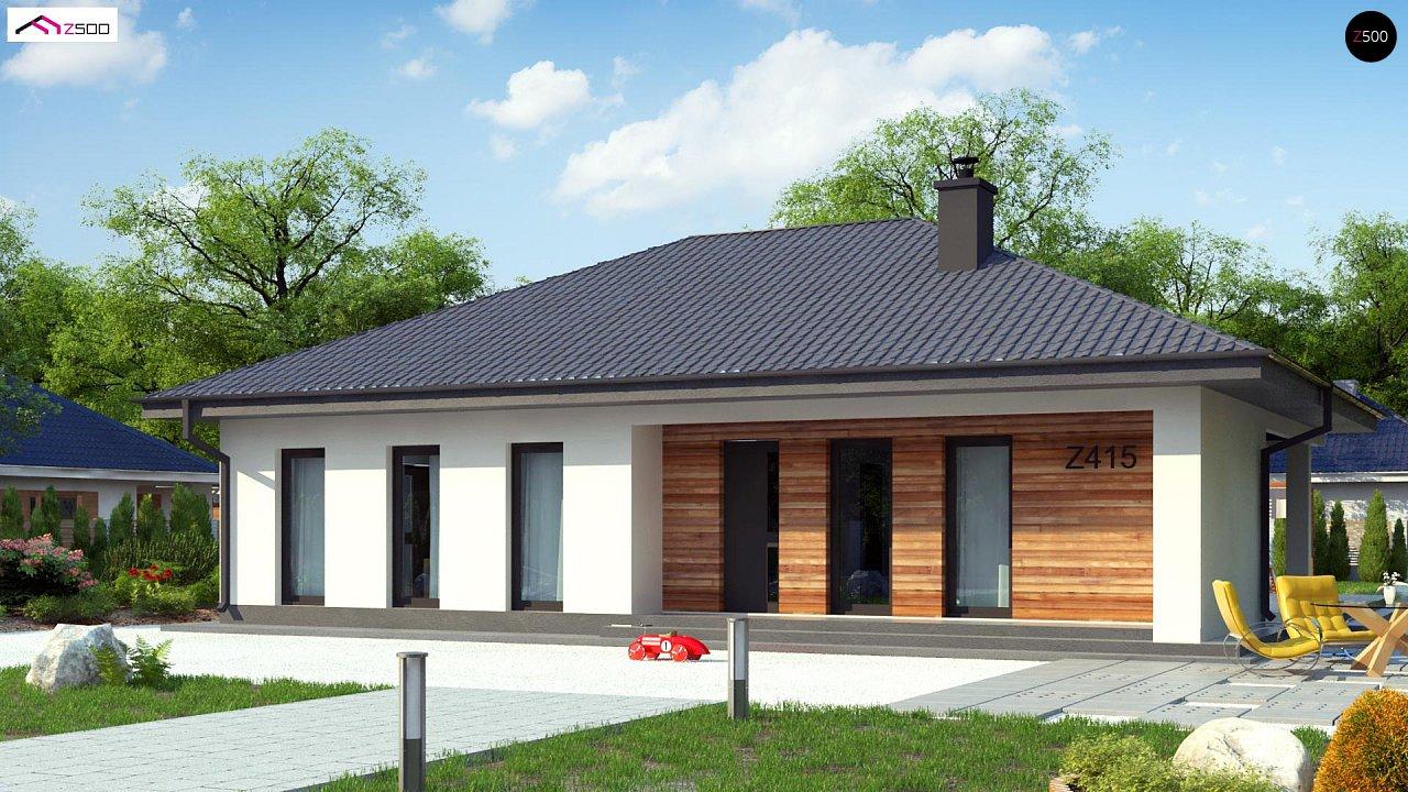 Проект будинку Z415 - 1