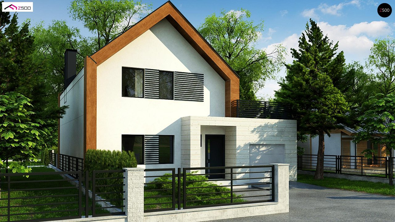 Проект будинку Z424 - 1