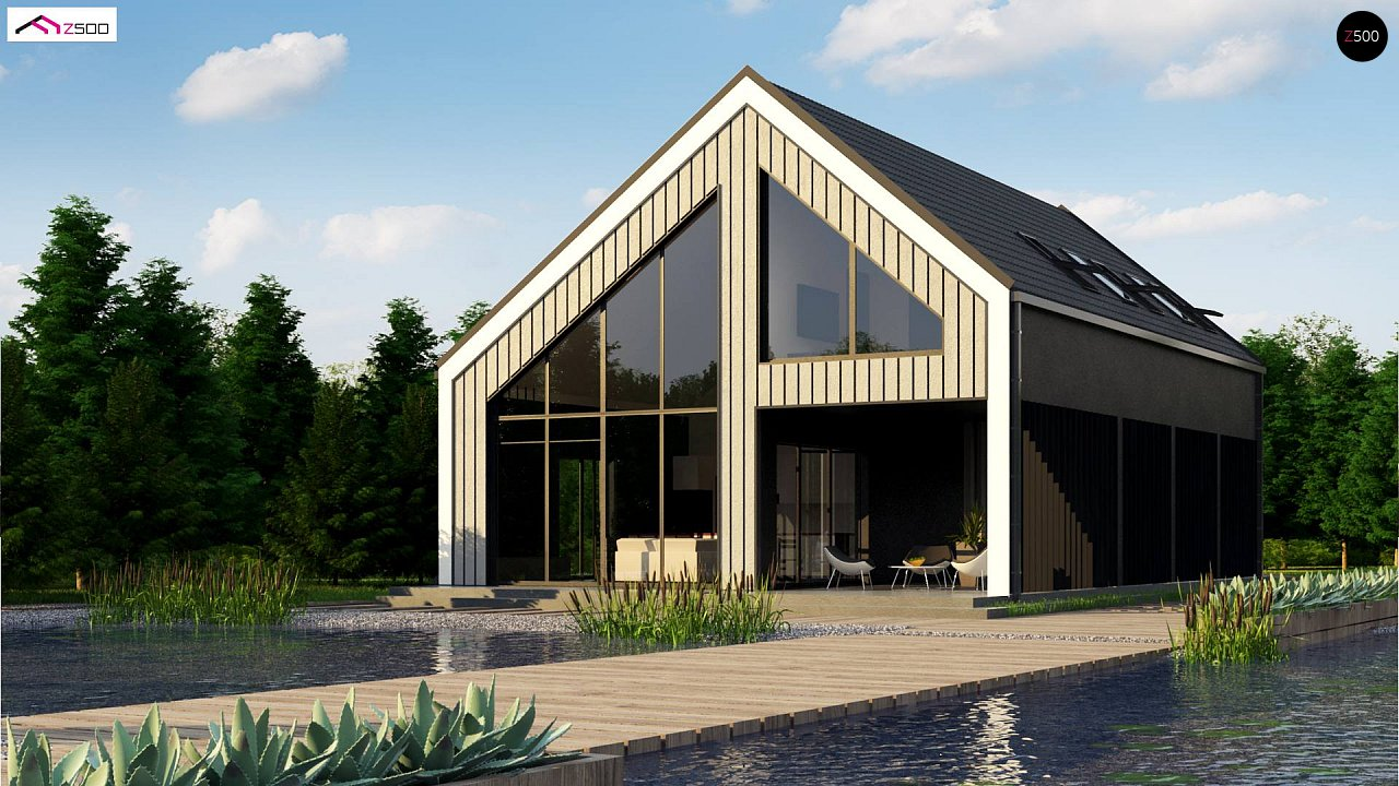 Проект будинку Z445 D - 1