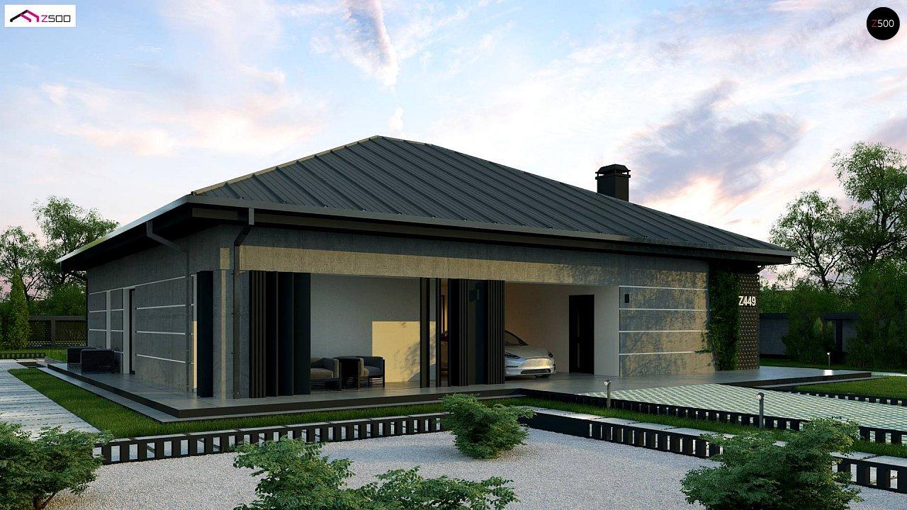 Проект будинку Z449 - 1