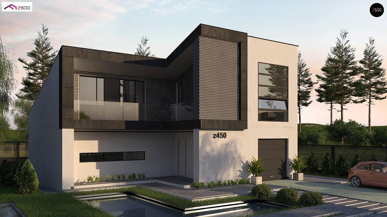 Проект будинку Z450 - 1