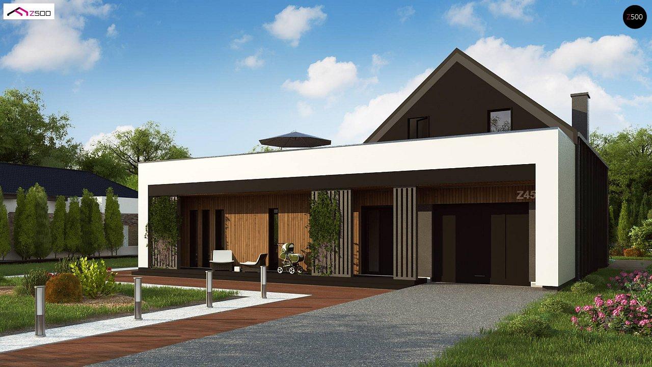 Проект будинку Z453 - 1