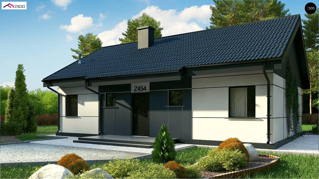 Проект будинку Z454 Real Green - 1