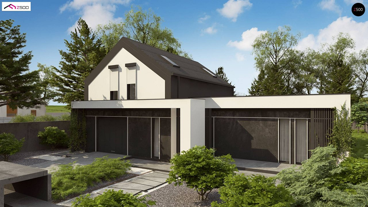 Проект будинку Z457 - 1