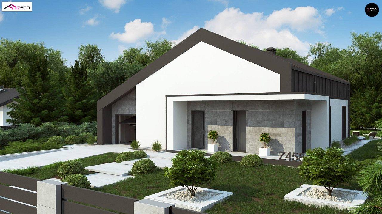 Проект будинку Z458 - 1