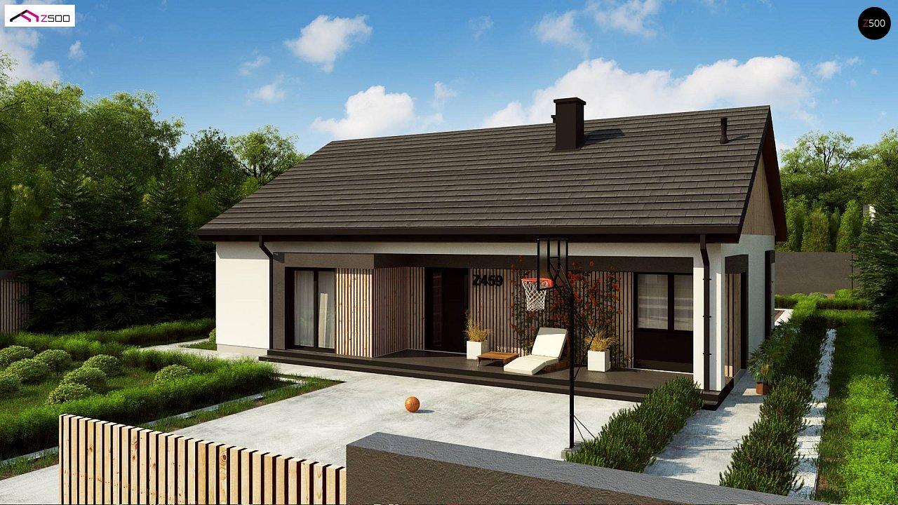 Проект будинку Z459 - 1