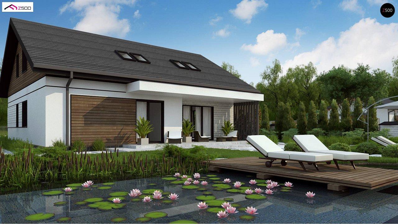 Проект будинку Z462 - 1