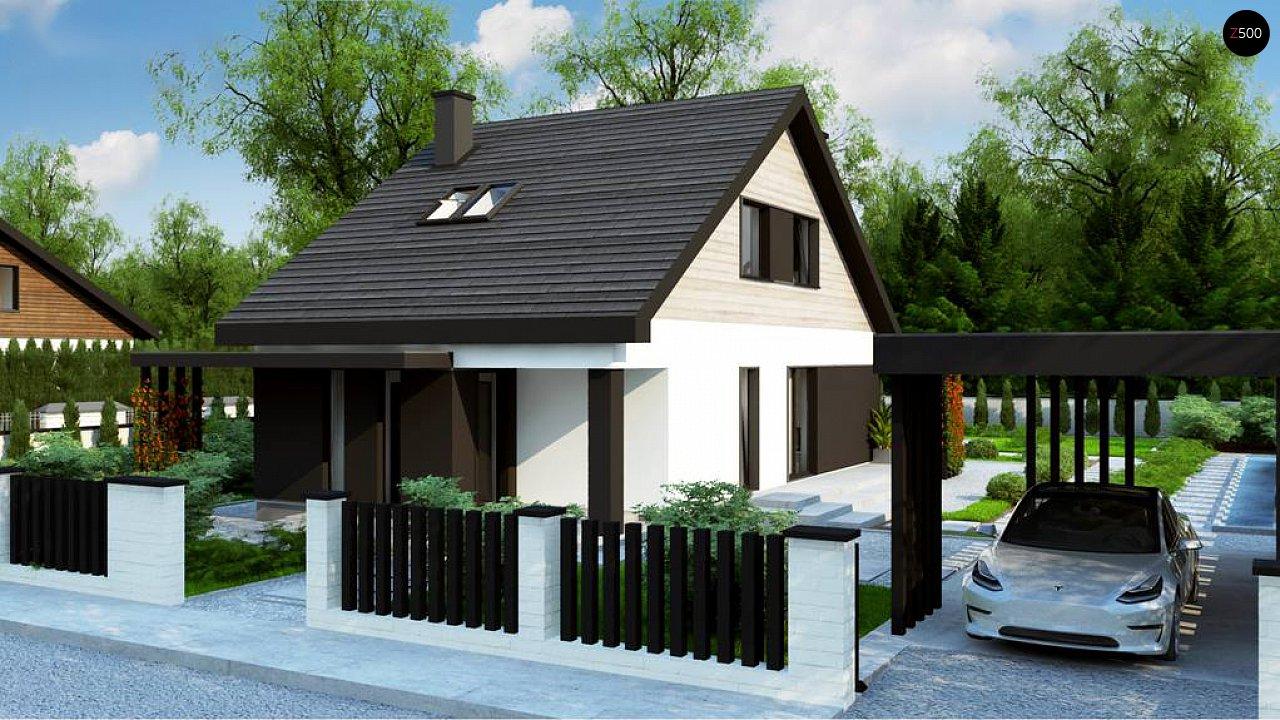 Проект будинку Z468 - 1