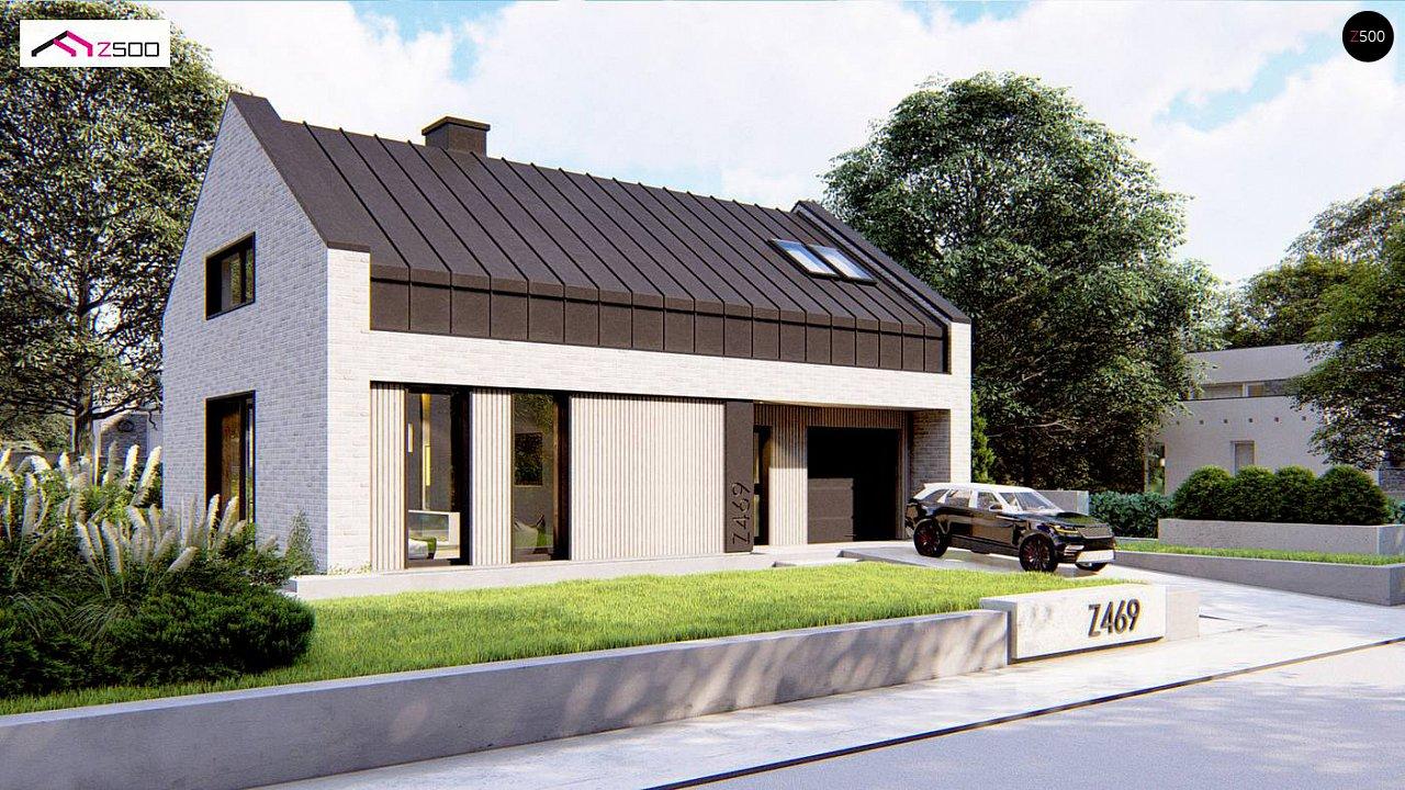 Проект будинку Z469 - 1