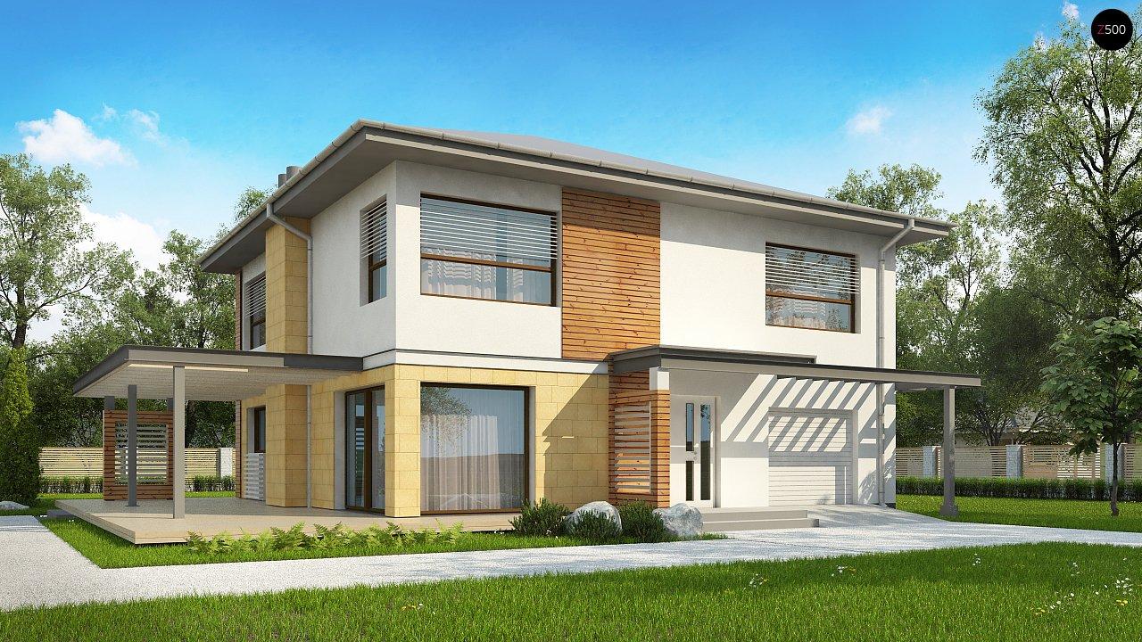 Проект будинку Zx2 L v2 - 1