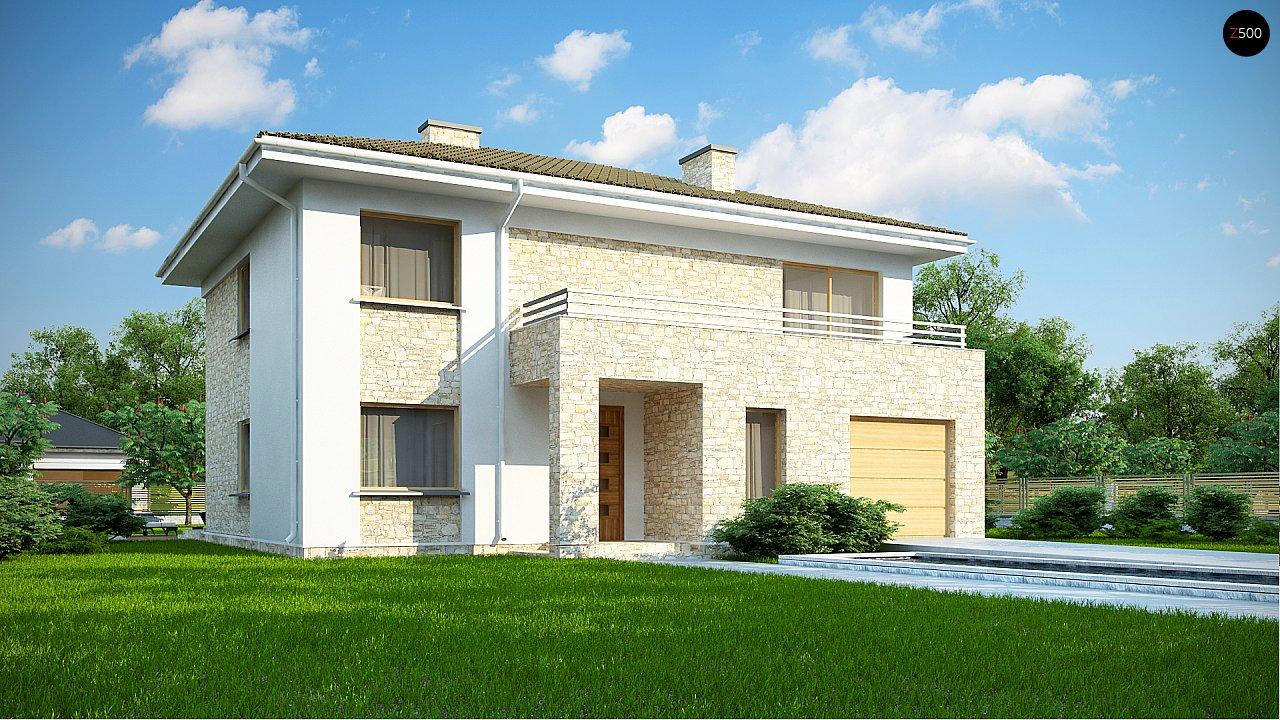 Проект будинку Zx4 A - 1