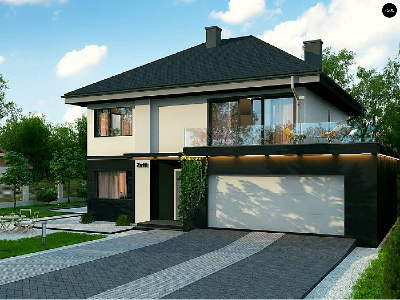 Проект будинку Zx10 F - 1