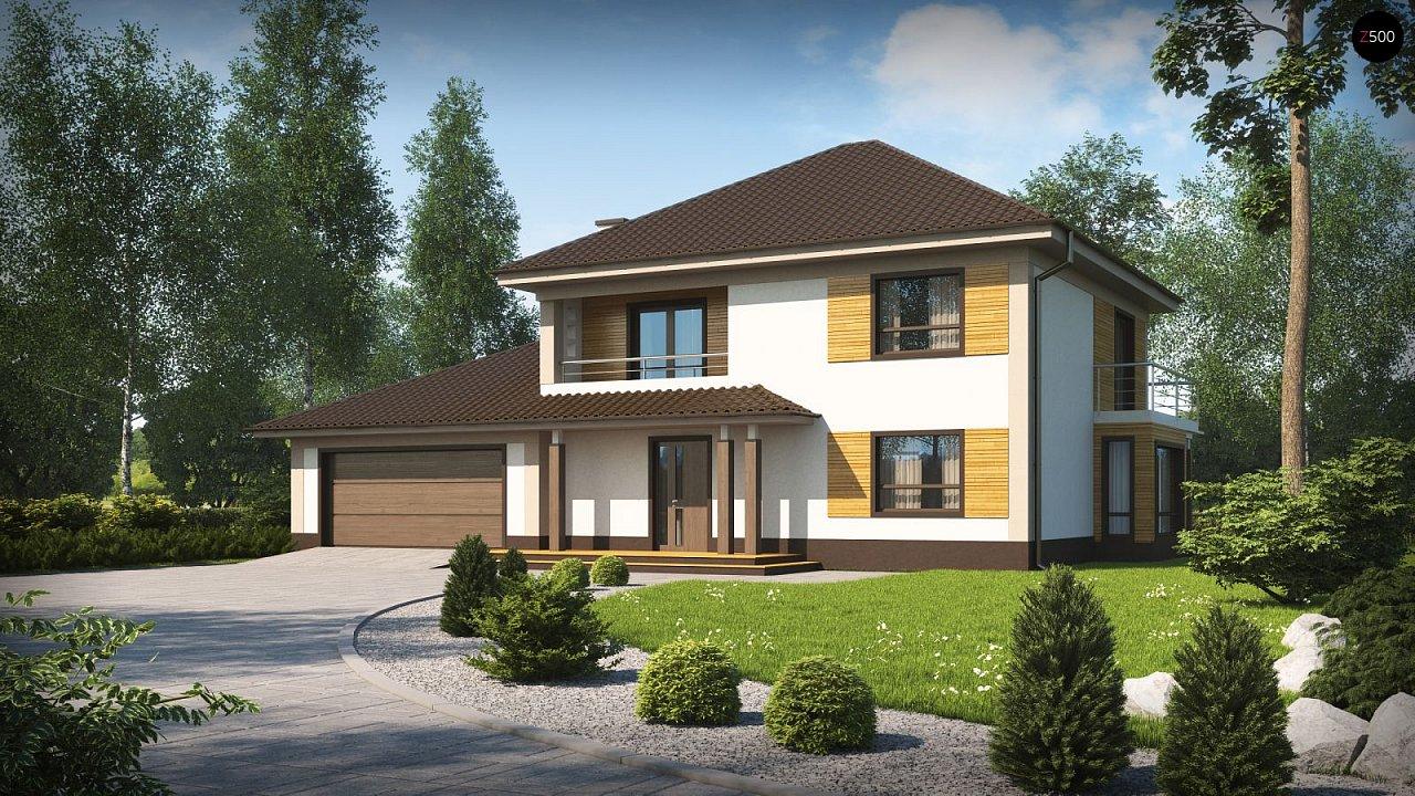 Проект будинку Zx12 GL2 F - 1