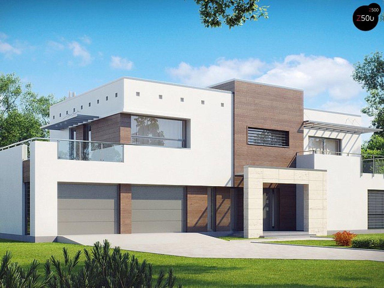 Проект будинку Zx15 GL2 P - 1