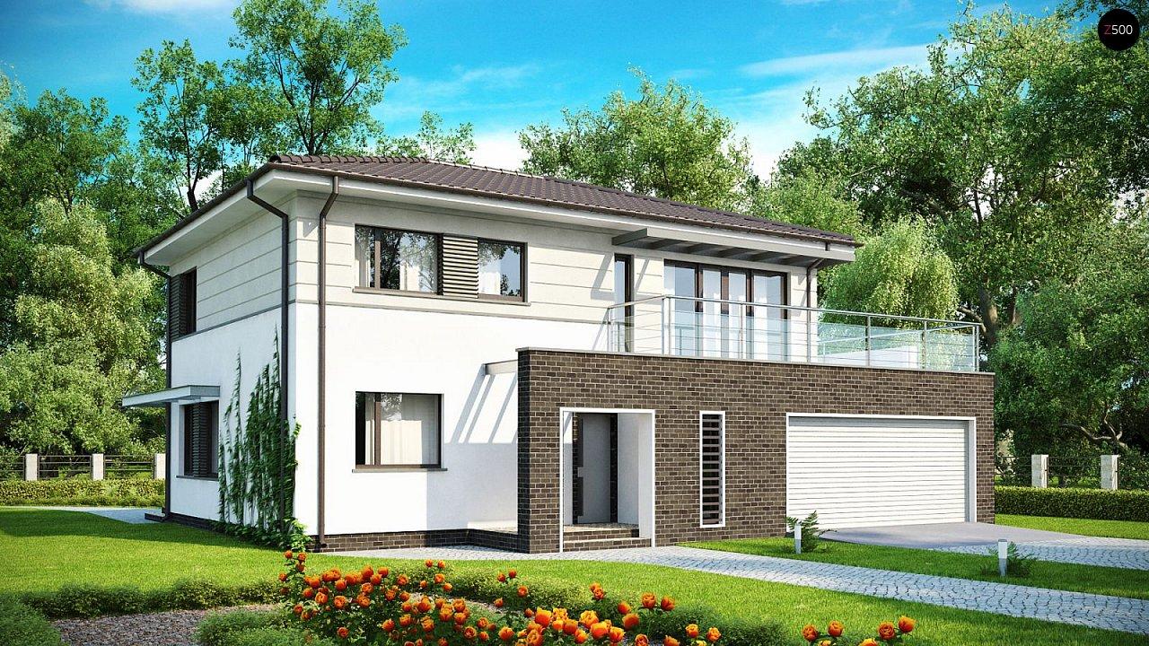 Проект будинку Zx26 F - 1