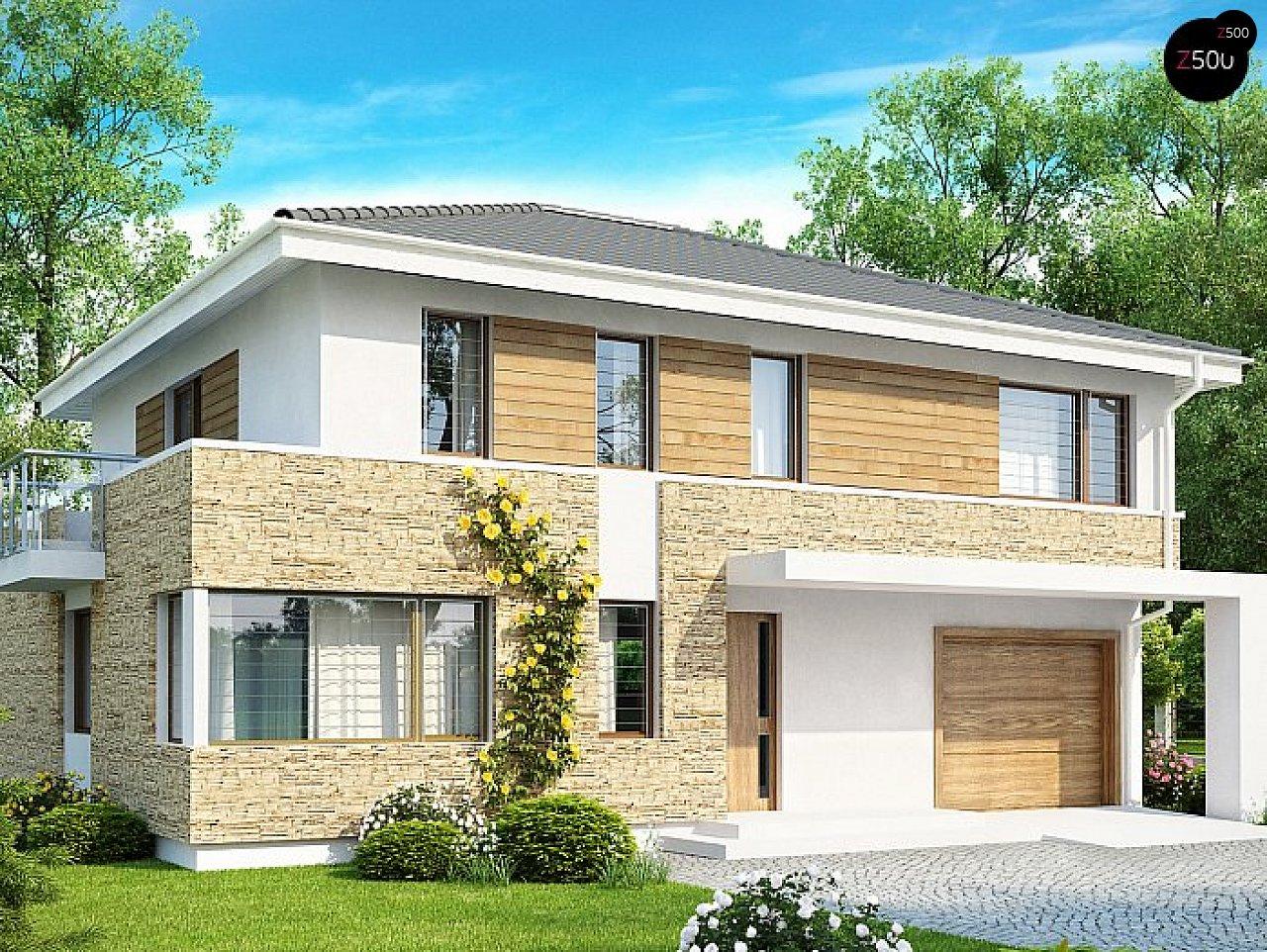 Проект будинку Zx29 S - 1