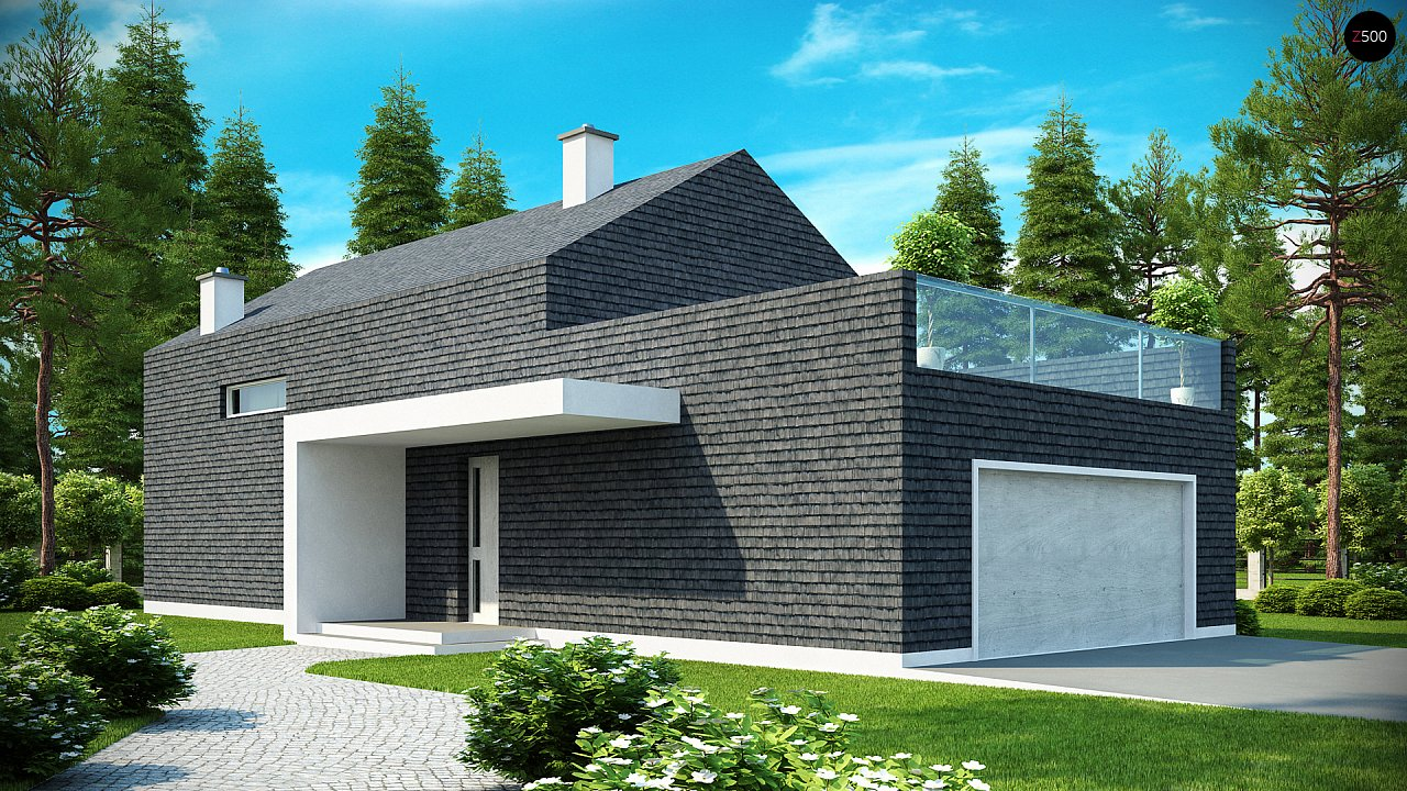 Проект будинку Zx40 - 1