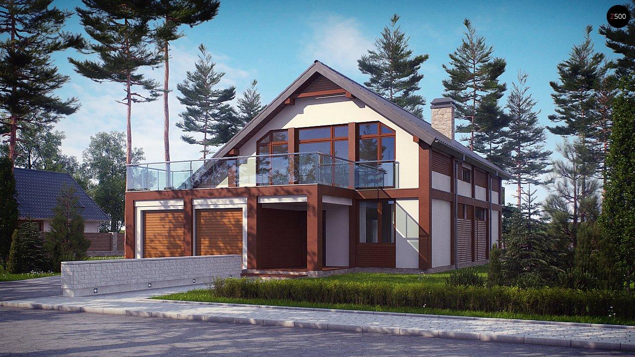 Проект будинку Zx50 - 1