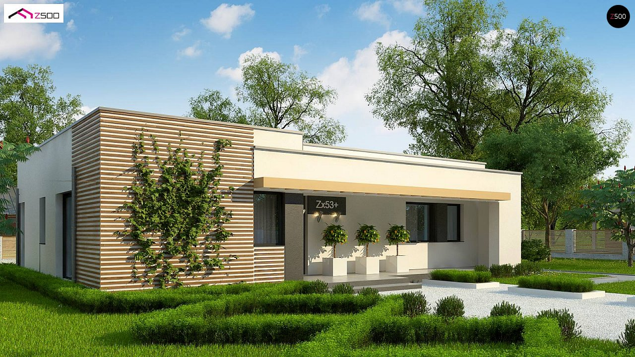 Проект будинку Zx53 + - 1
