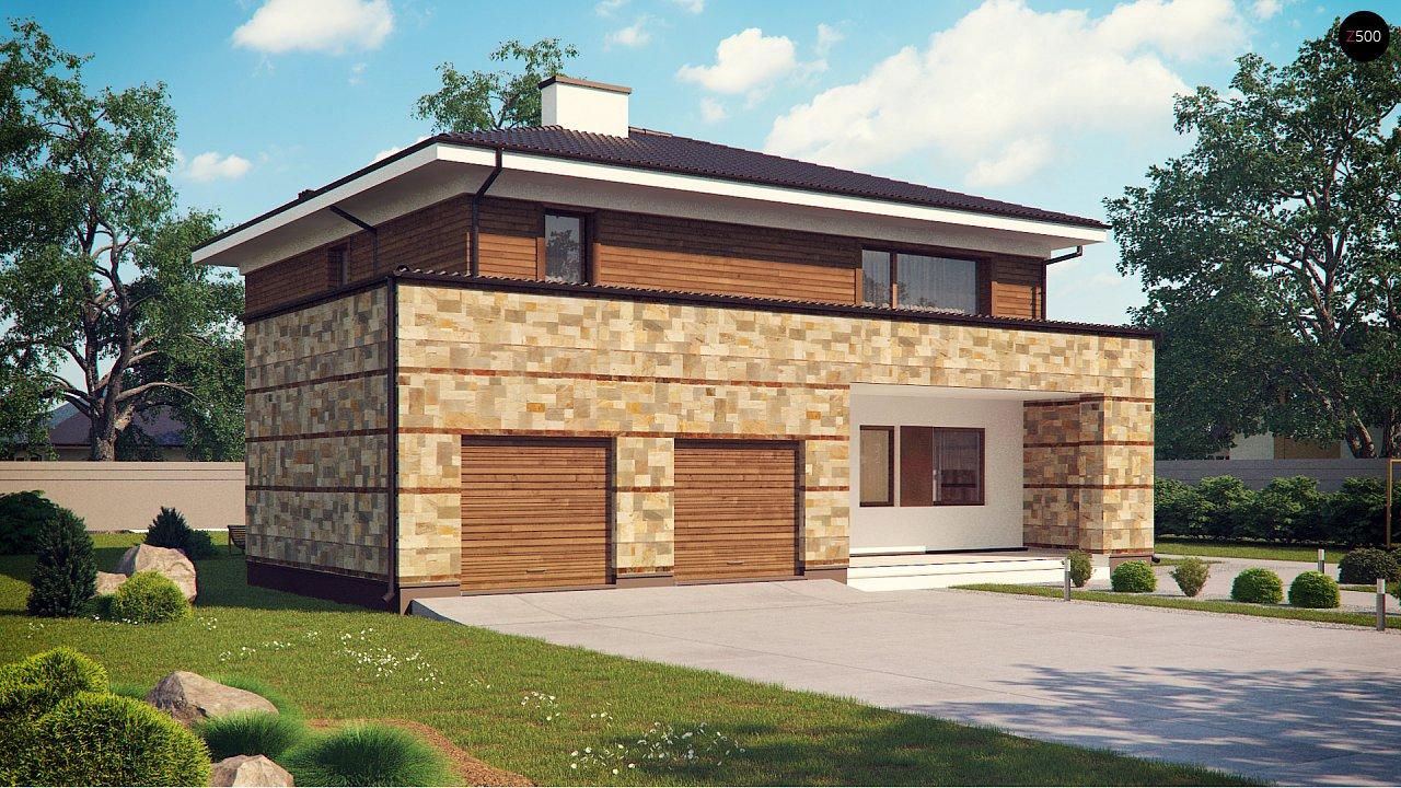 Проект будинку Zx62 - 1