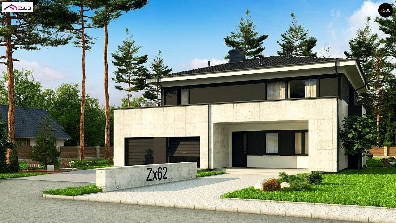 Проект будинку Zx62 A - 1