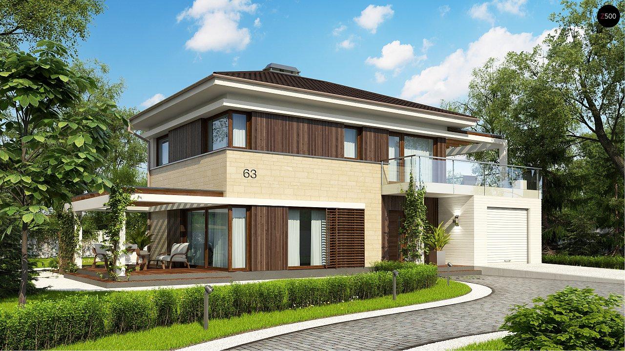 Проект будинку Zx63 B - 1