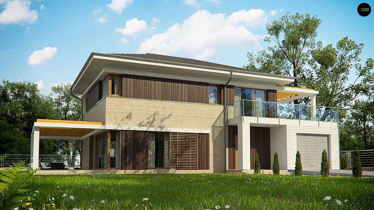 Проект будинку Zx63 B + s - 1