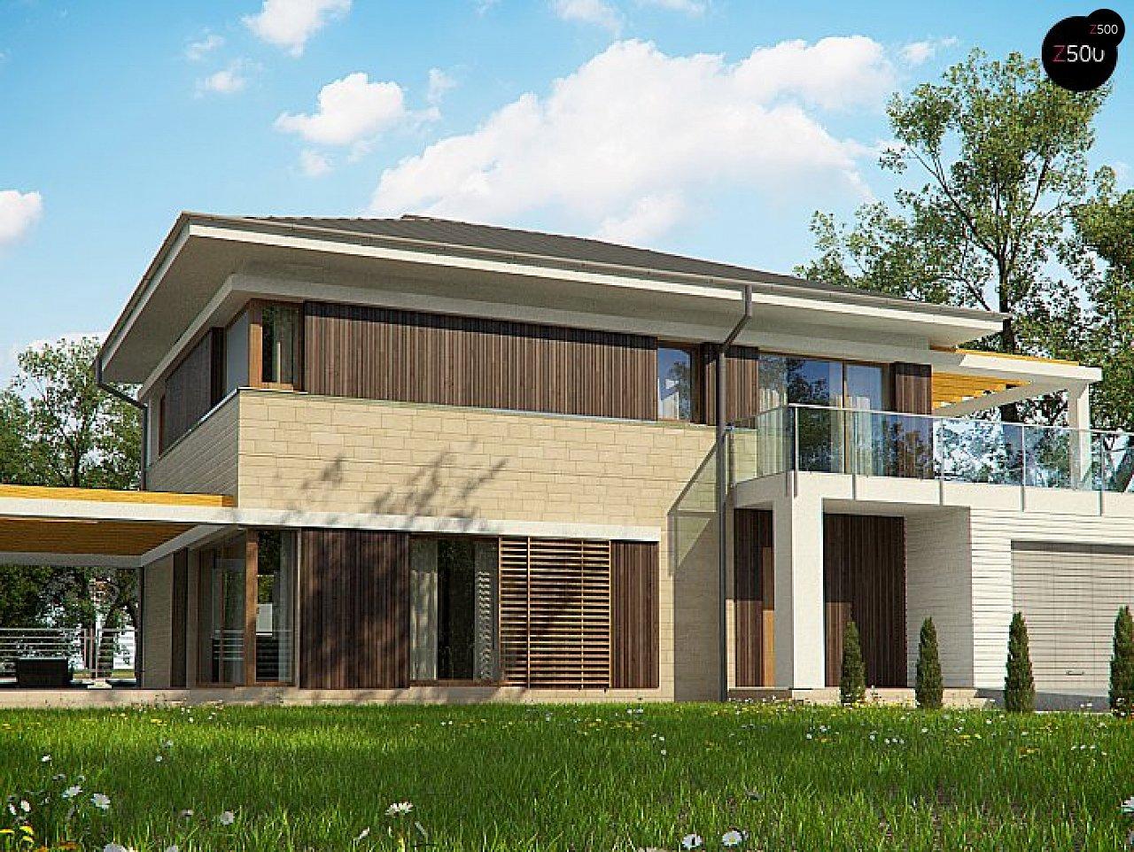 Проект будинку Zx63 B+P - 1