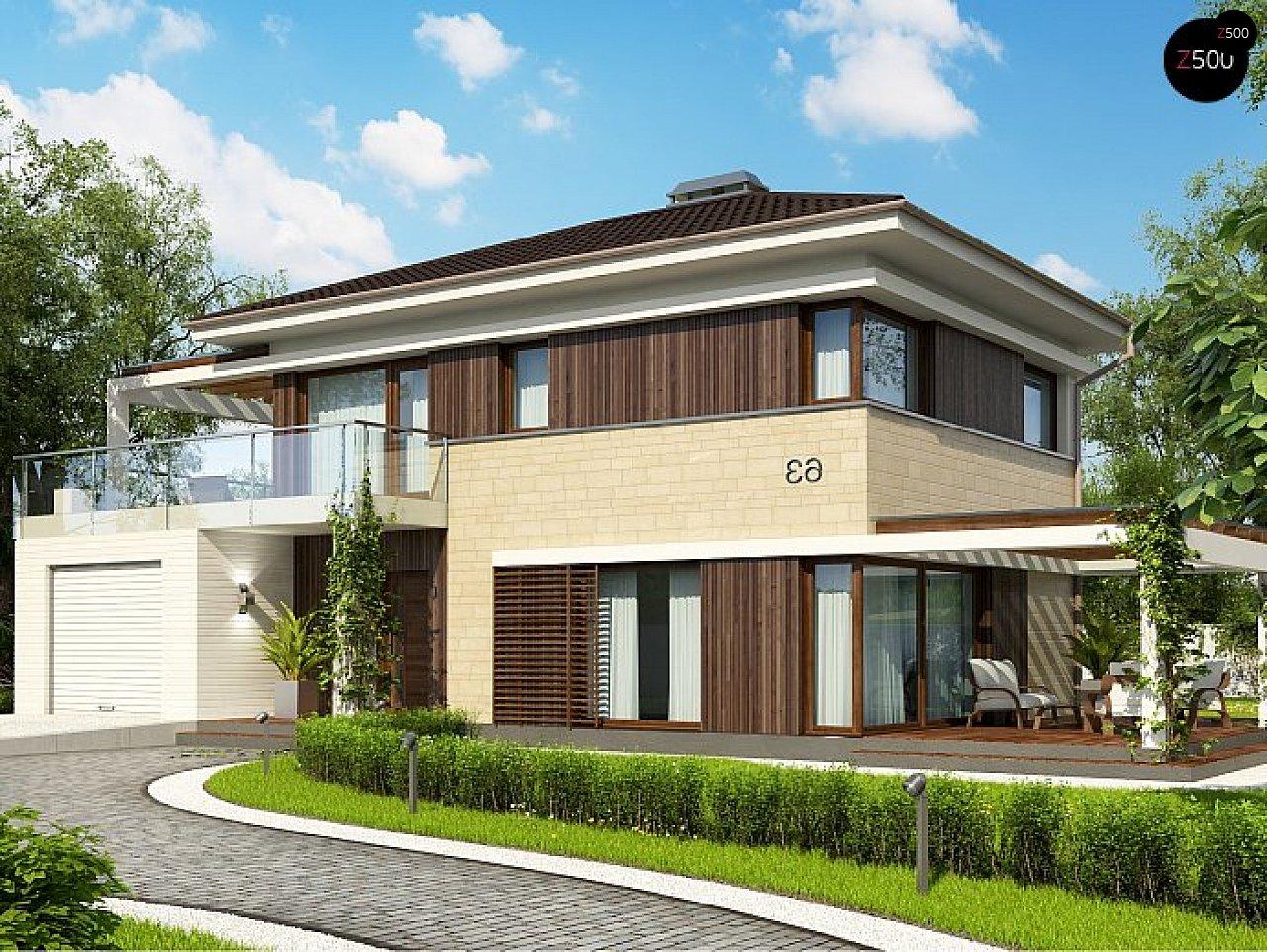 Проект будинку Zx63 C - 1