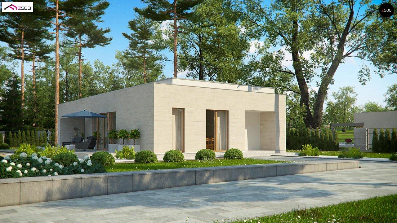 Проект будинку Zx67 - 1
