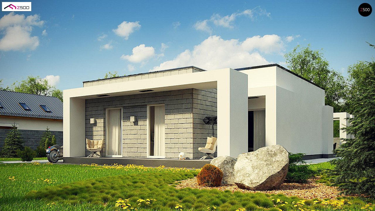 Проект будинку Zx69 - 1