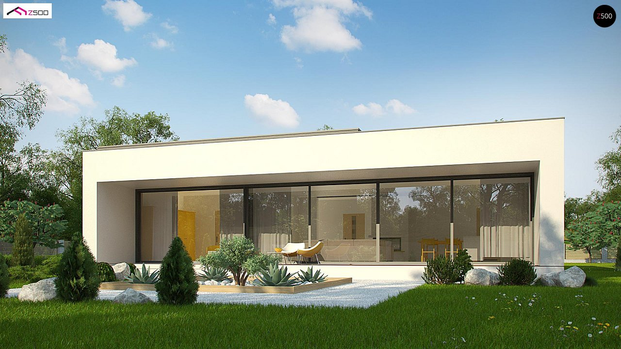 Проект будинку Zx72 minus - 1