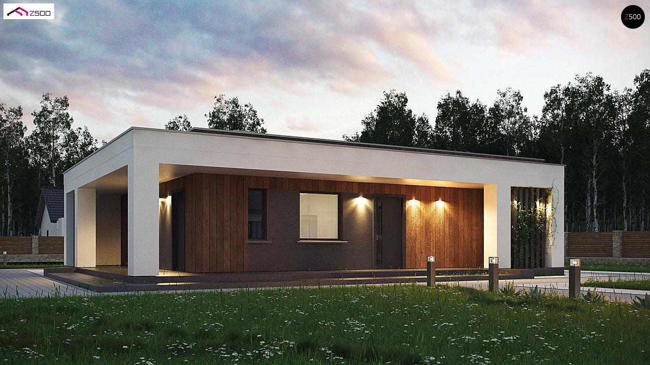 Проект будинку Zx76 D - 1