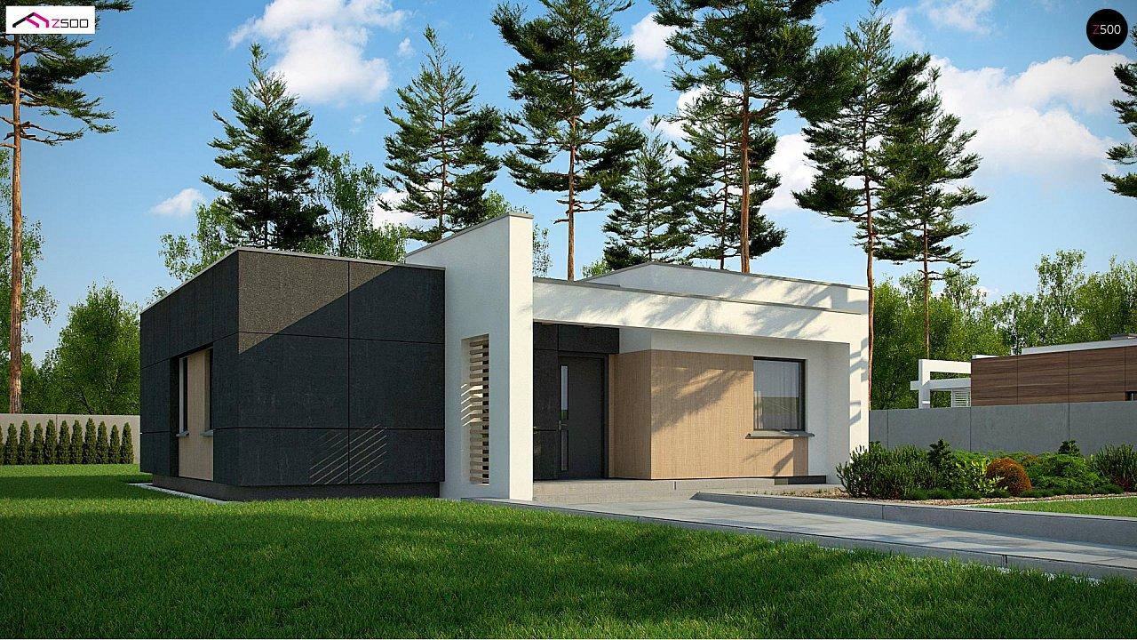 Проект будинку Zx77 A - 1