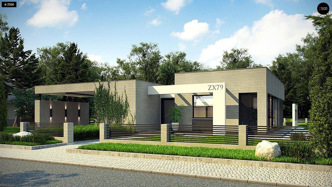 Проект будинку Zx79 - 1