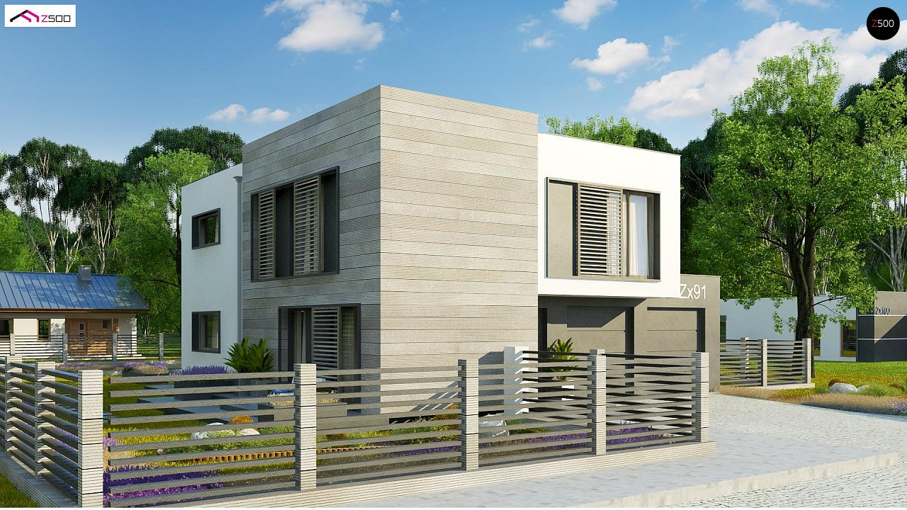 Проект будинку Zx91 - 1